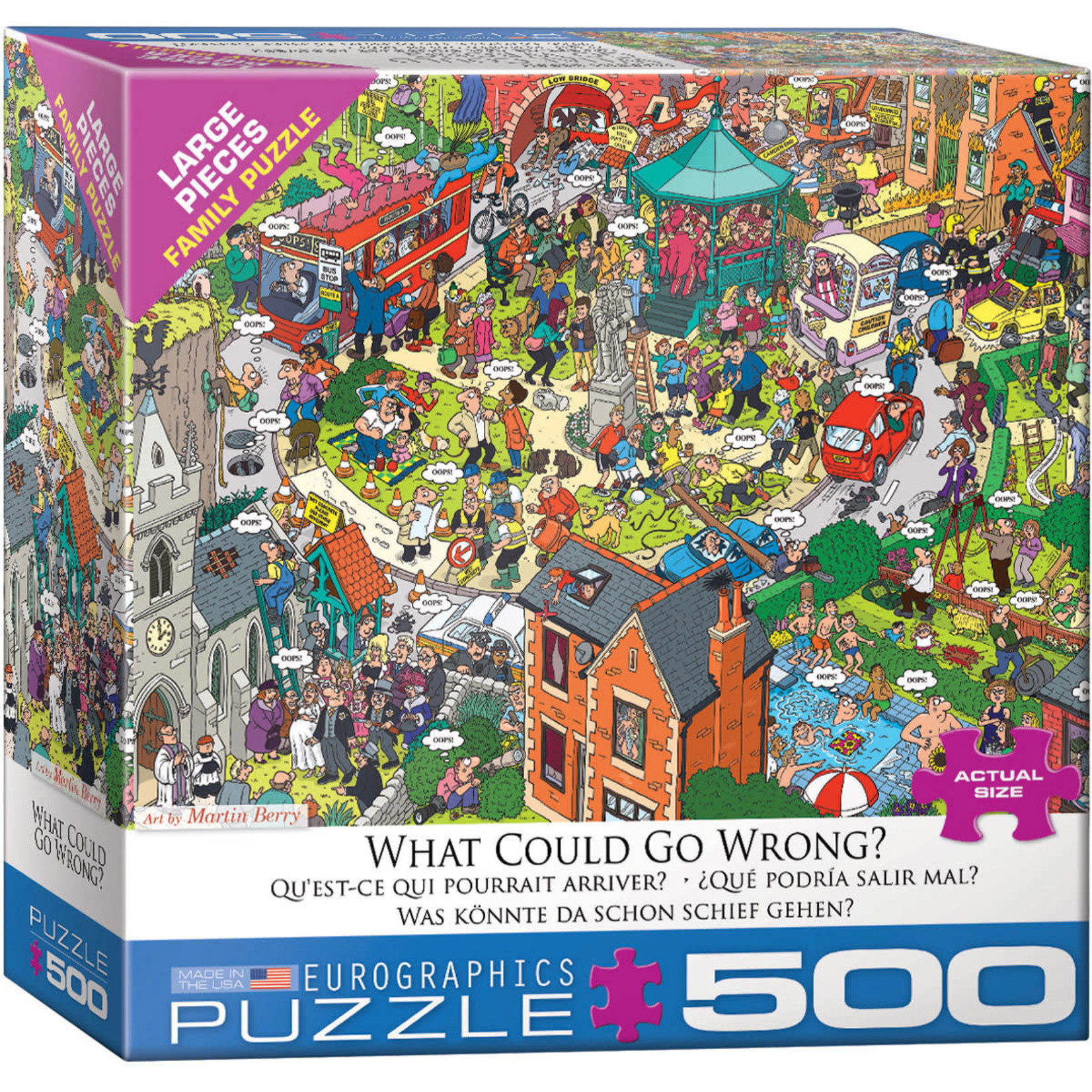 Eurographics Eurographics Puzzle: What Could go Wrong? - 500pc