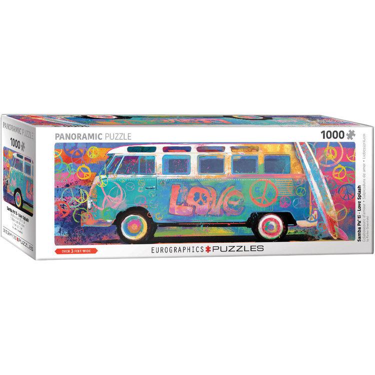 Eurographics Eurographics Puzzle: VW Love Splash - 1000pc
