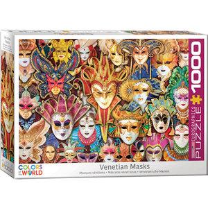 Eurographics Eurographics Puzzle: Venetian Mask - 1000pc