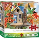 Eurographics Eurographics Puzzle: Trumpet Vines & Tree Sparrows - 300pc