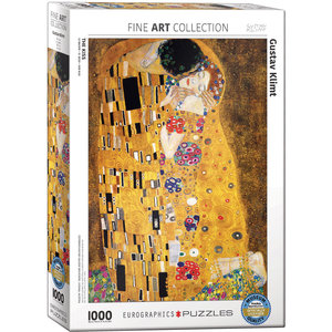 Eurographics Eurographics Puzzle: The Kiss by Gustav Klimt - 1000pc