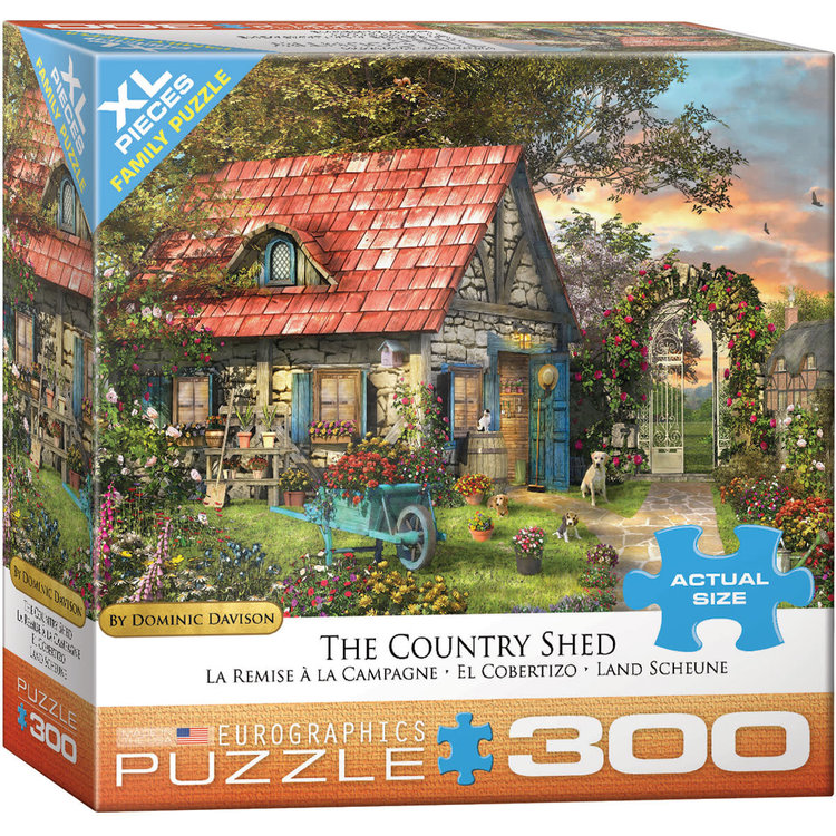 Eurographics Eurographics Puzzle: The Country Shed - 300pc