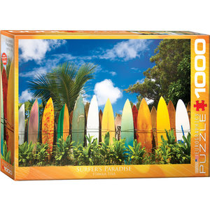 Eurographics Eurographics Puzzle: Surfer's Paradise Hawaii - 1000pc