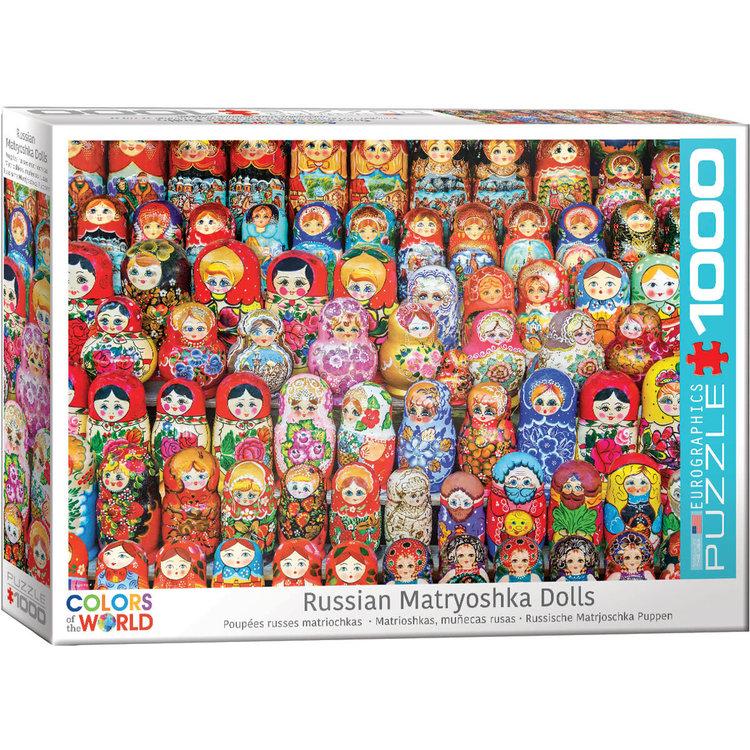 Eurographics Eurographics Puzzle: Russian Matryoshka Dolls - 1000pc