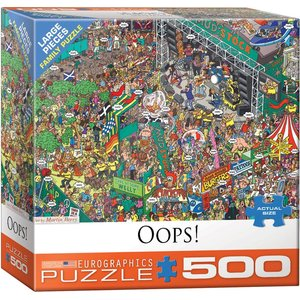 Eurographics Eurographics Puzzle: Oops! - 500pc
