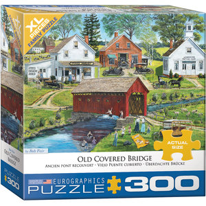 Eurographics Eurographics Puzzle: Old Covered Bridge - 300pc