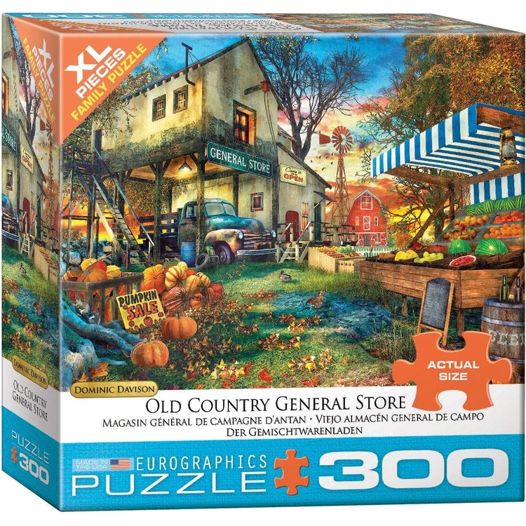 Eurographics Eurographics Puzzle: Old Country General Store - 300pc