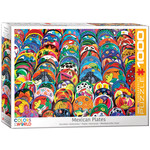 Eurographics Eurographics Puzzle: Mexican Ceramic Plates - 1000pc