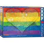 Eurographics Eurographics Puzzle: Love & Pride! - 1000pc