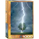Eurographics Eurographics Puzzle: Lightning Striking Tree - 1000pc