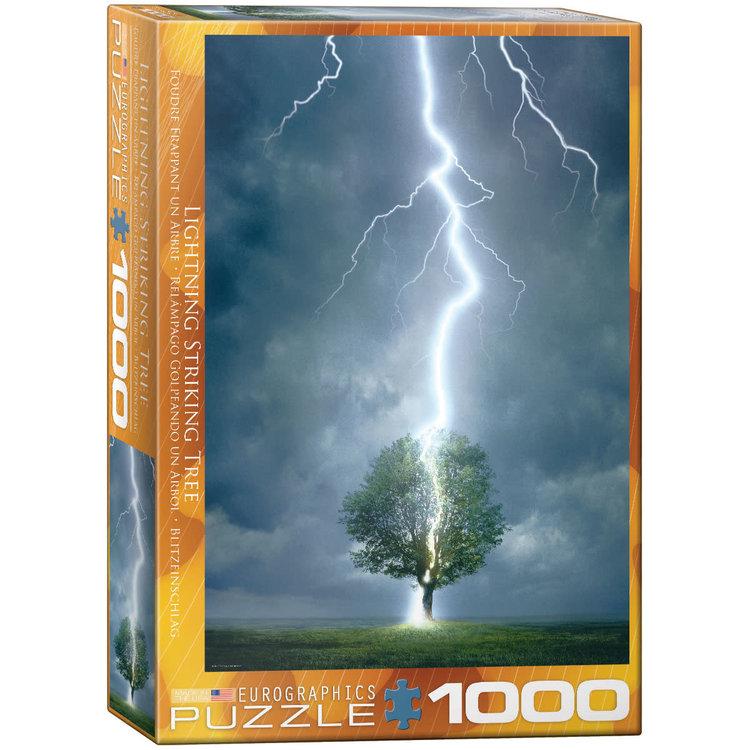 Eurographics Eurographics Puzzle: Lighning Striking Tree - 1000pc