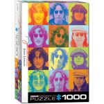 Eurographics Eurographics Puzzle: John Lennon Color Portraits - 1000pc
