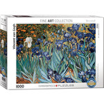 Eurographics Eurographics Puzzle: Irises by Vincent van Gogh - 1000pc