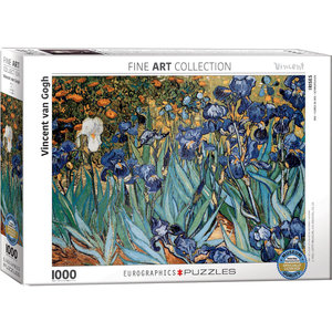Eurographics Eurographics Puzzle: Irises by Vincent van Gogh - 1000pc