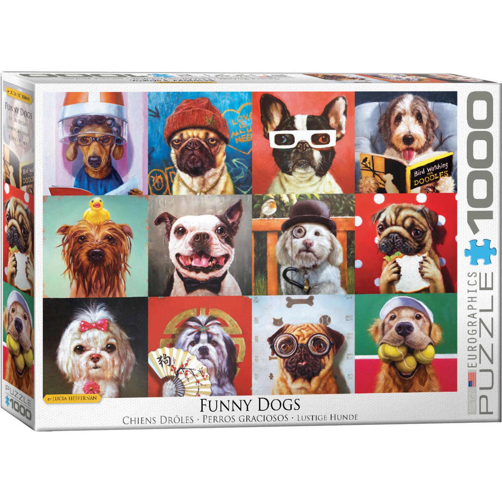 Eurographics Eurographics Puzzle: Funny Dogs - 1000pc
