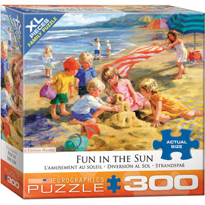 Eurographics Eurographics Puzzle: Fun in the Sun - 300pc