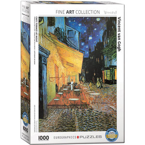 Eurographics Eurographics Puzzle: Café Terrace at Night - 1000pc
