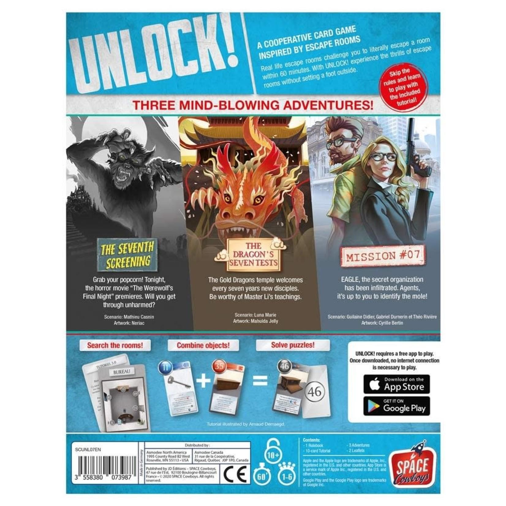 Asmodee Editions UNLOCK! Epic Adventures