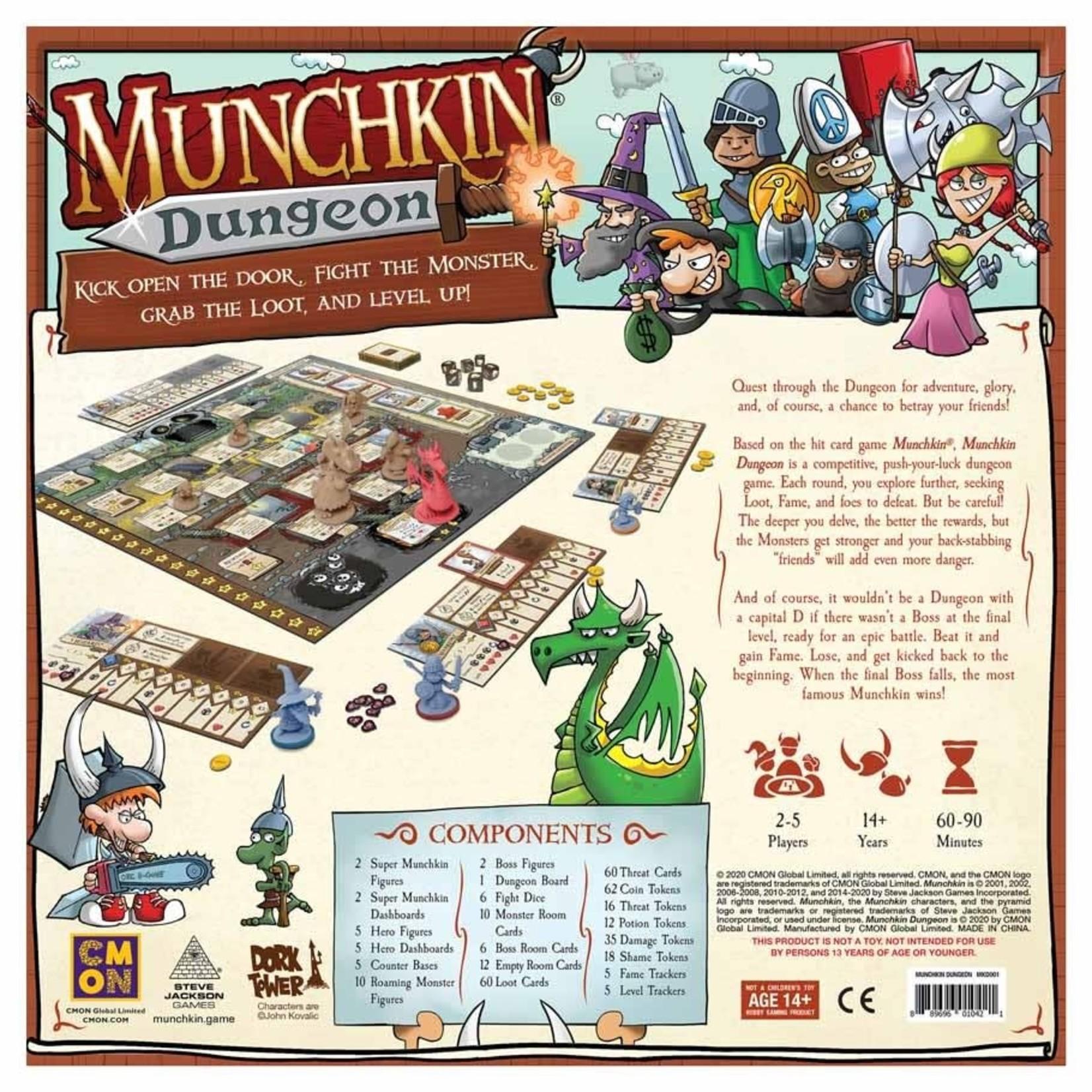 CMON Munchkin Dungeon