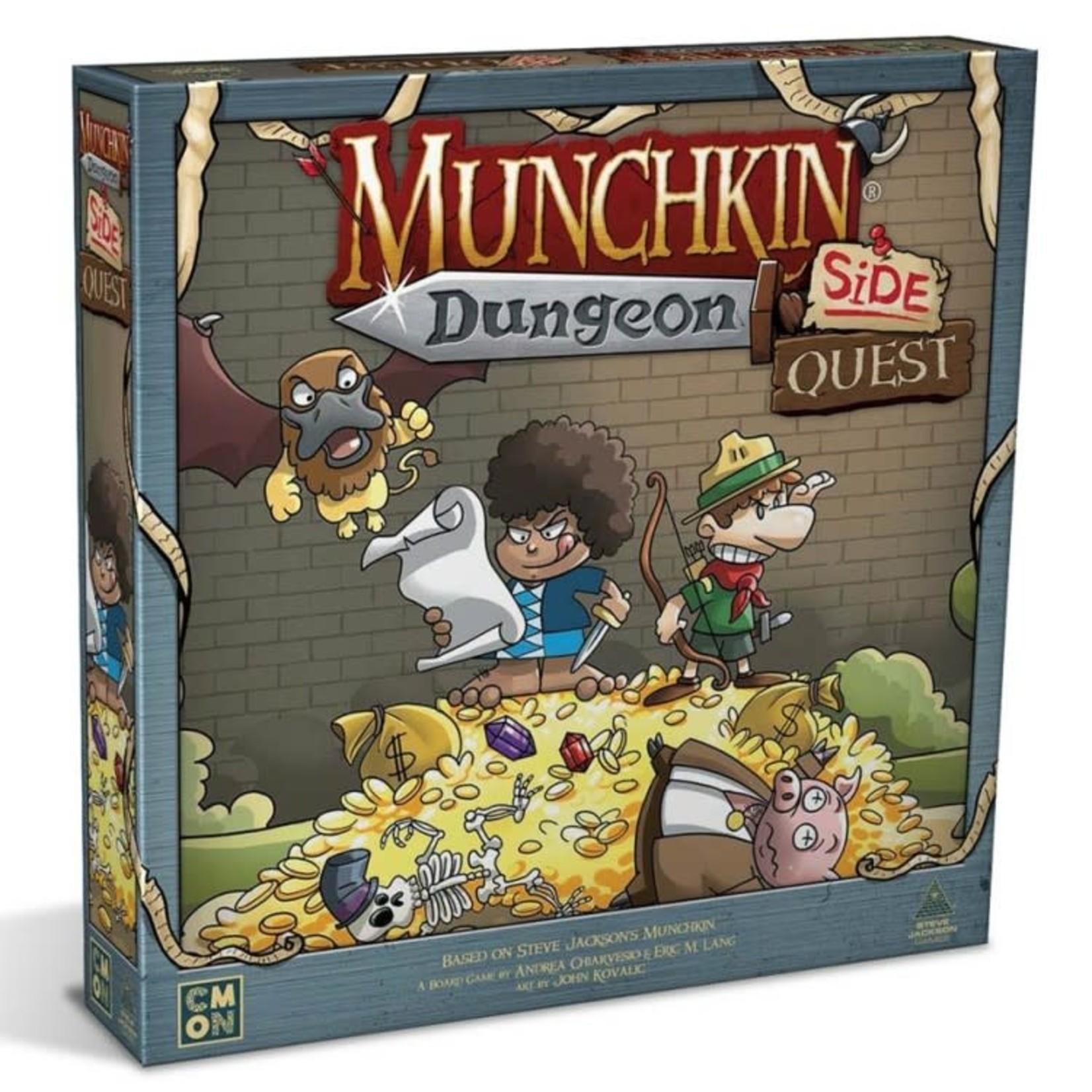 CMON Munchkin Dungeon: Side Quest