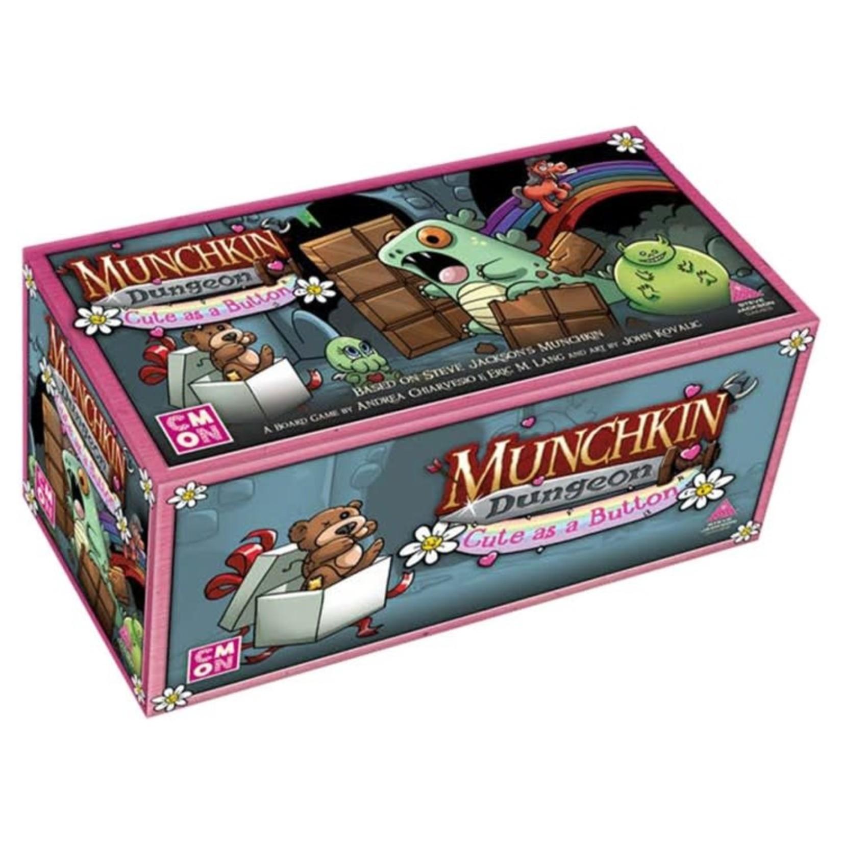 CMON Munchkin Dungeon: Cute as a Button
