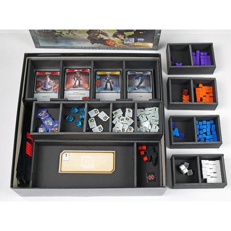 Folded Space Box Insert: Clank! In! Space!