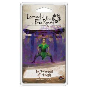 Fantasy Flight Games Legend of the Five Rings TCG: In Pursuit of Truth Dynasty Pack (Dominion Cycle Pack 3)