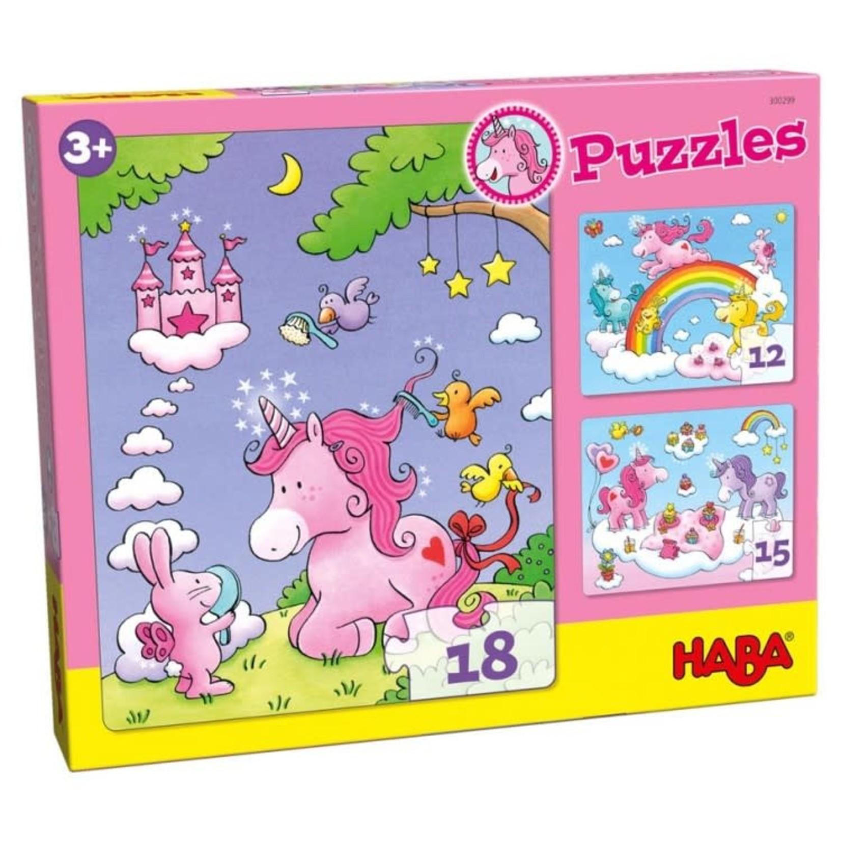 Haba Puzzle: Unicorn Glitterluck