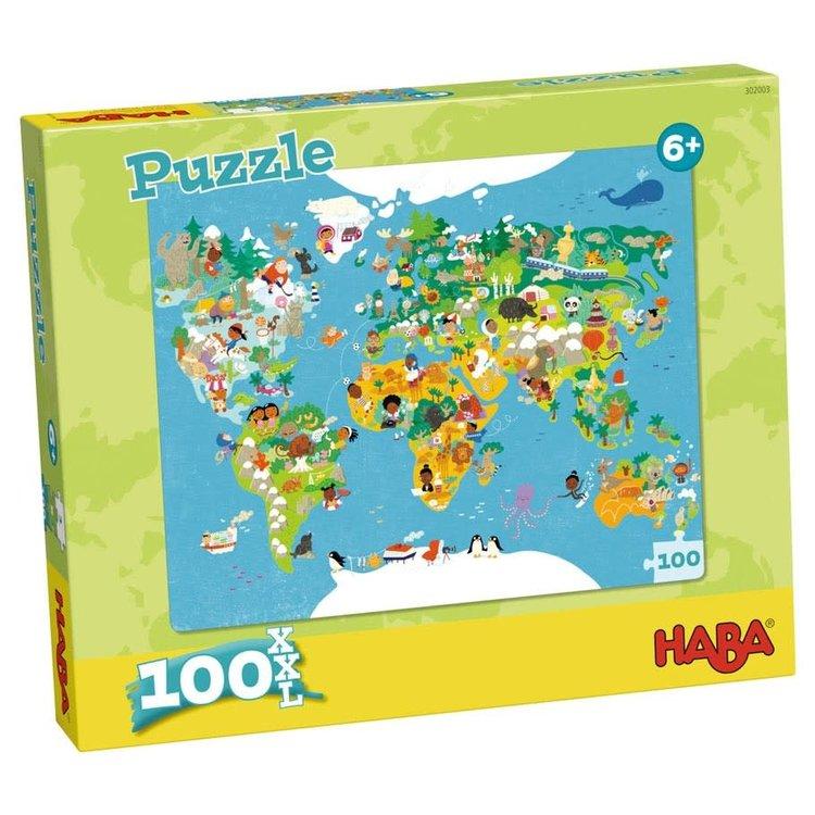 Haba Puzzle: World Map