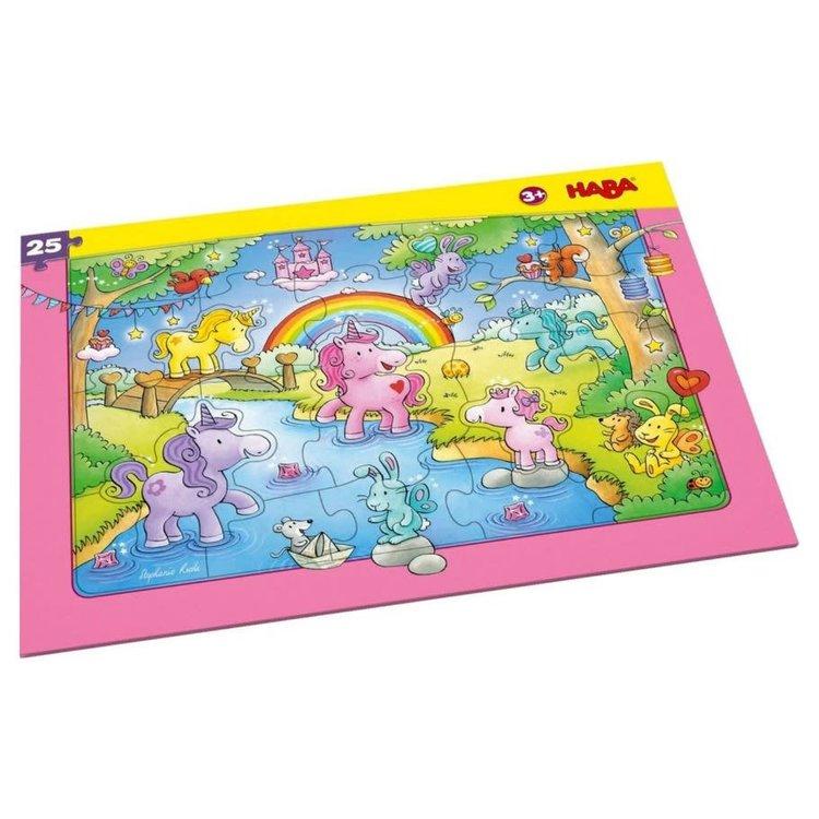 Haba Puzzle: Unicorn Glitterluck Frame