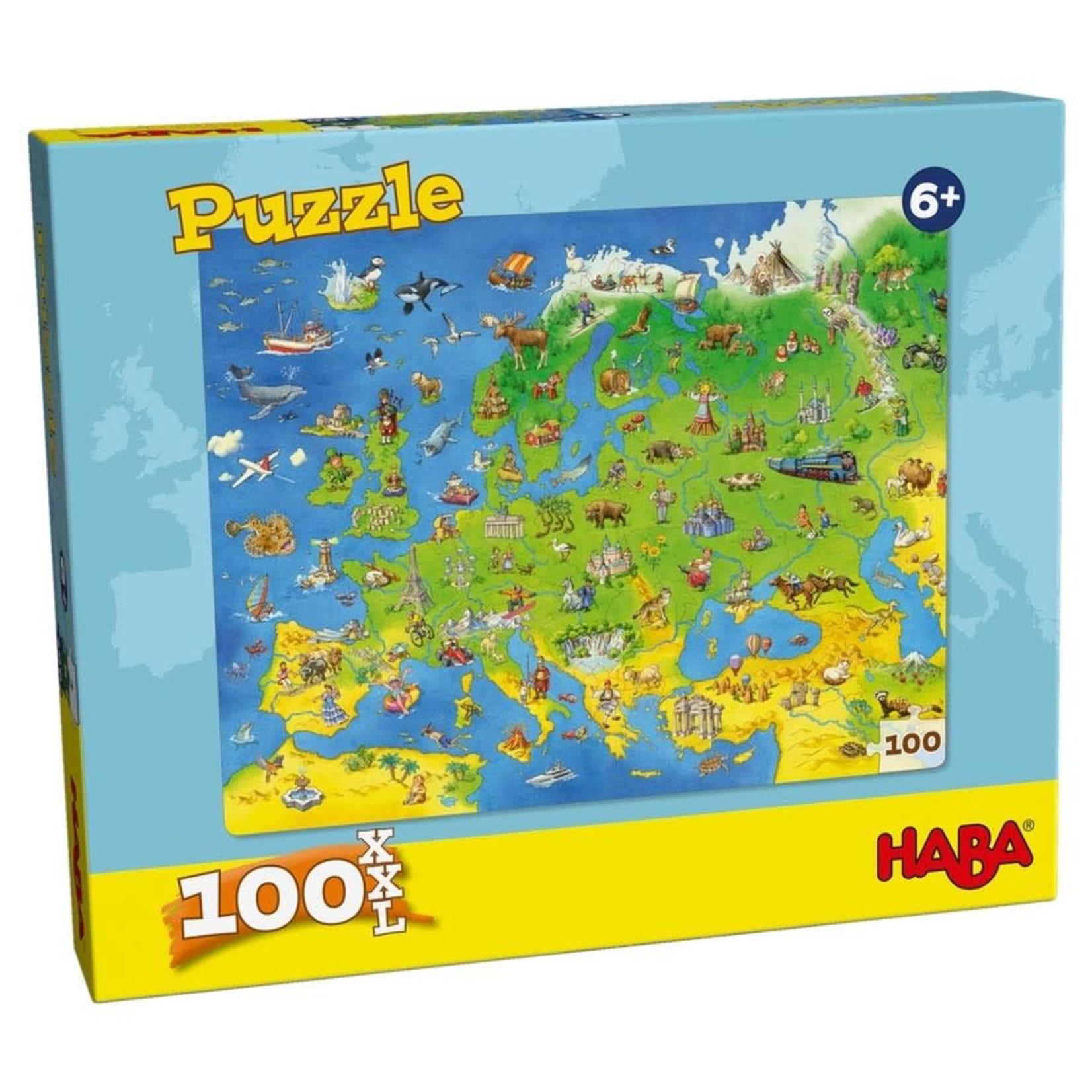 Haba Puzzle: Europe Map