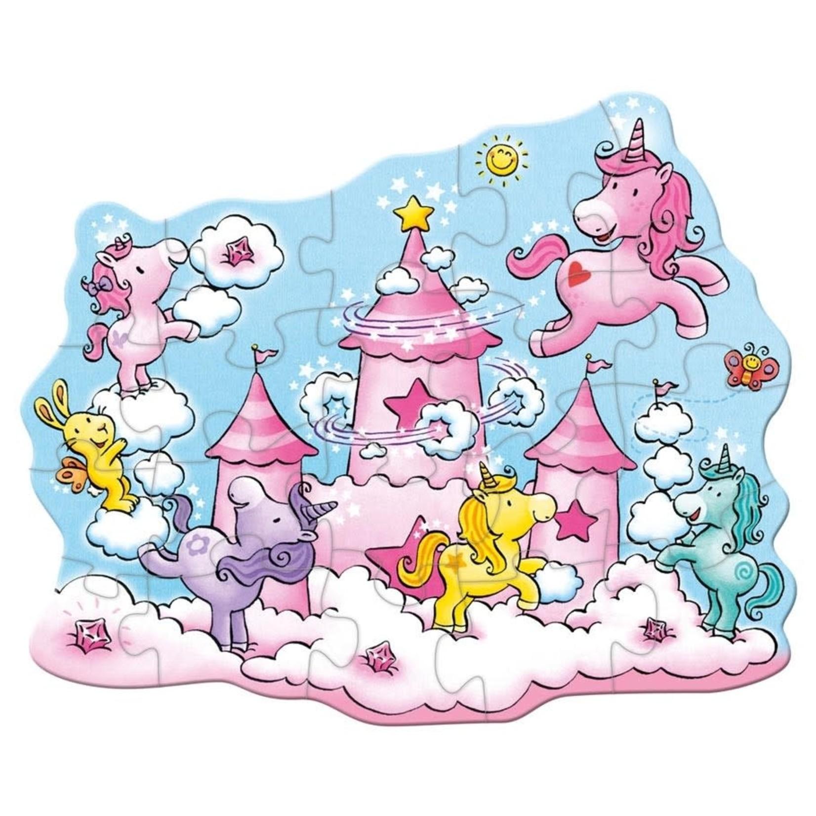 Haba Puzzle: Unicorn Glitterluck in the Clouds