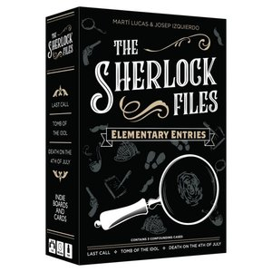 Indie Board and Cards Sherlock Files: Elementary Entries