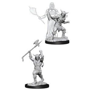 WizKids D&D Nolzur's Marvelous Miniatures: Human Male Barbarian (W11)