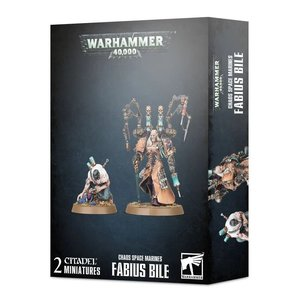Games Workshop Warhammer 40k: Chaos Space Marines: Fabius Bile