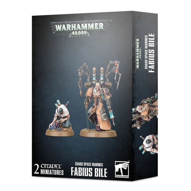Games Workshop Warhammer 40k: Chaos Space Marines: Fabius Bile