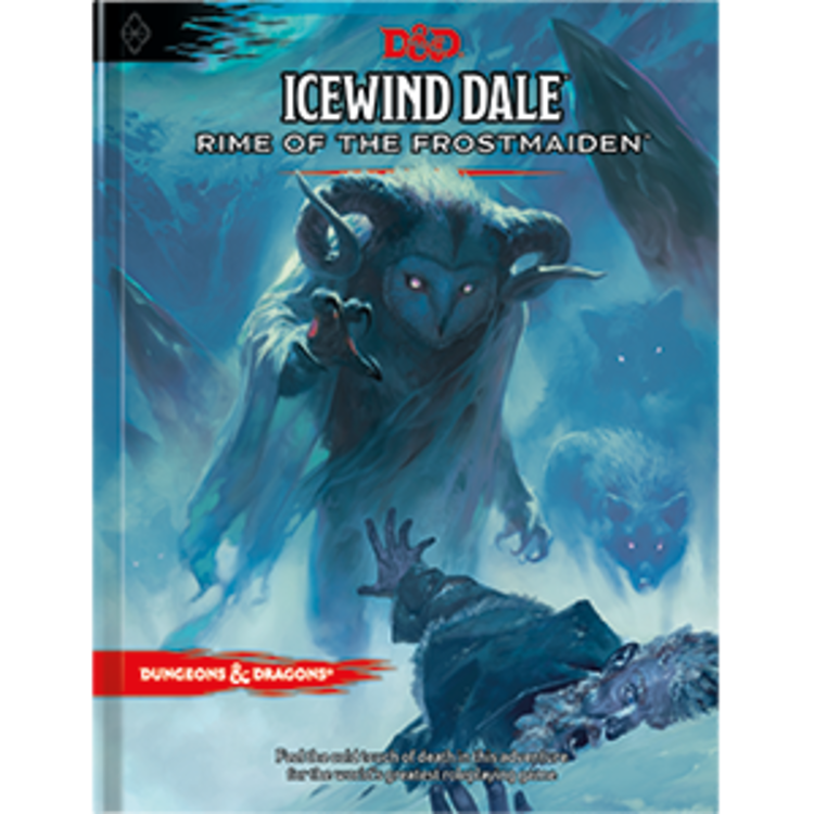 Wizards of the Coast Dungeons and Dragons 5th Edition: Icewind Dale Rime of the Frostmaiden