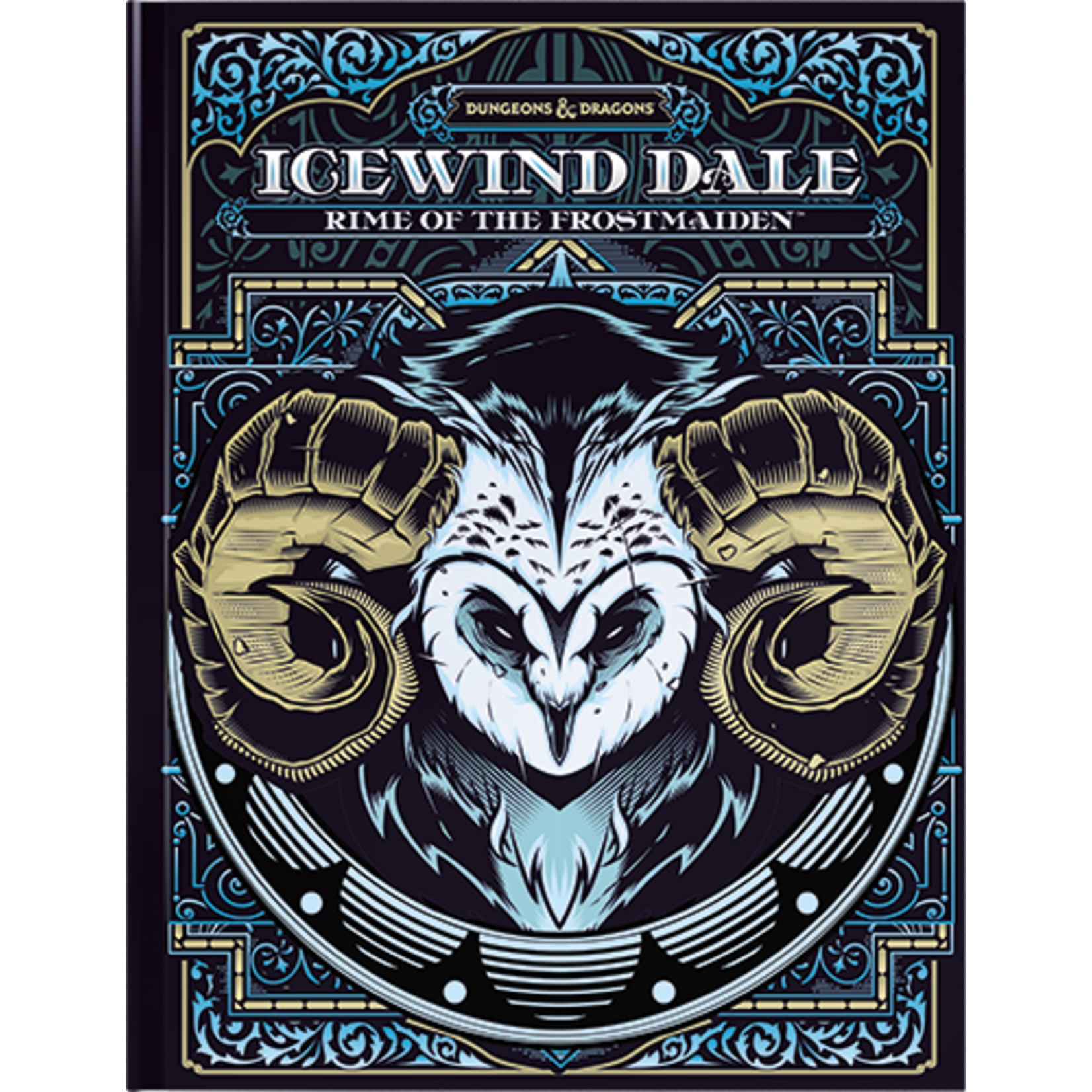 Wizards of the Coast Dungeons and Dragons 5th Edition: Icewind Dale Rime of the Frostmaiden [ALTERNATE COVER]