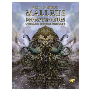 Chaosium Call of Cthulhu: Malleus Monstrorum: Cthulhu Mythos Bestiary Slipcase Set