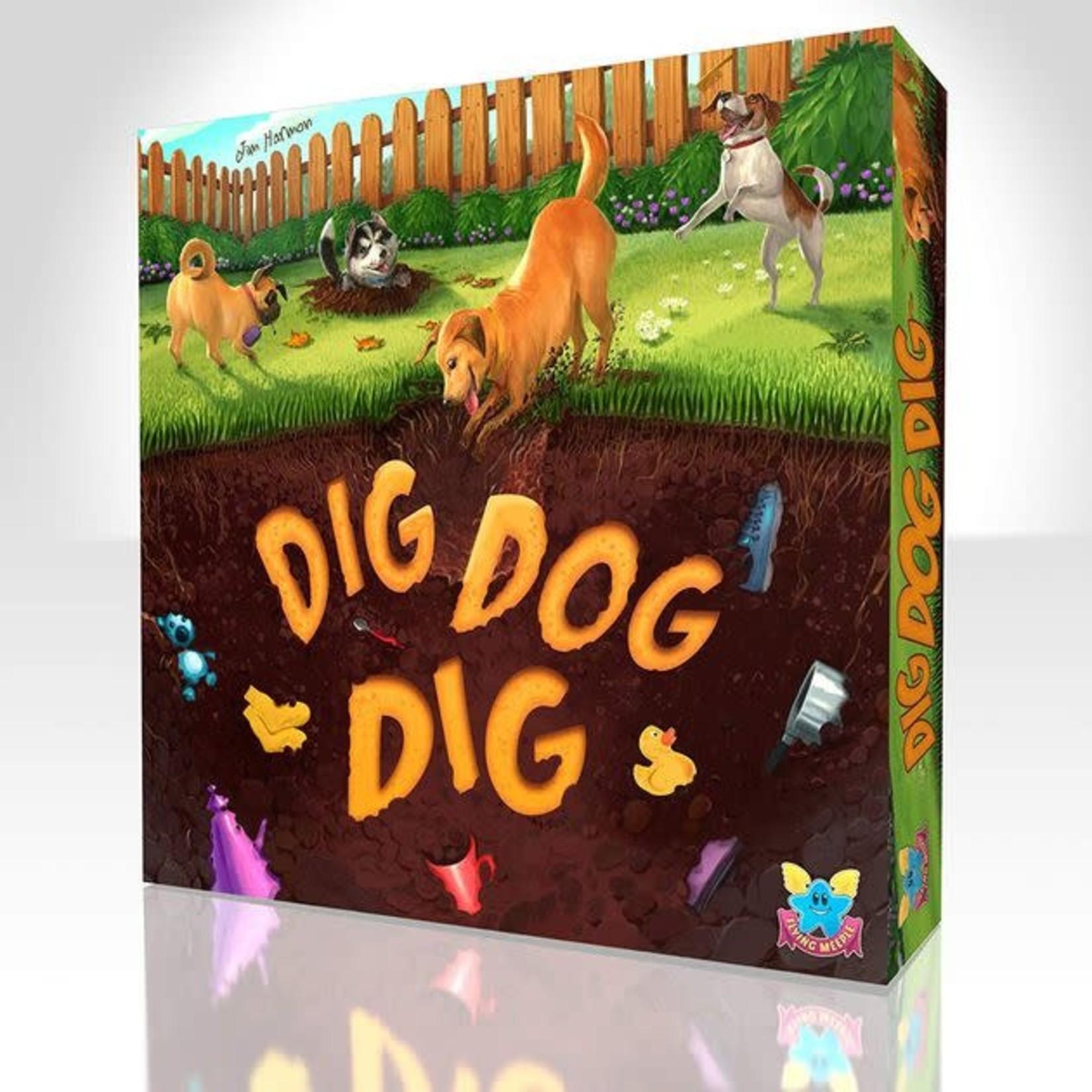The Flying Meeple Dig Dog Dig
