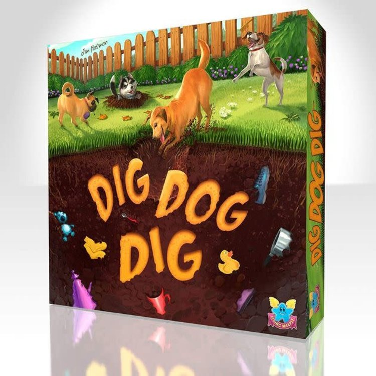 The Flying Meeple Dig Dog Dig
