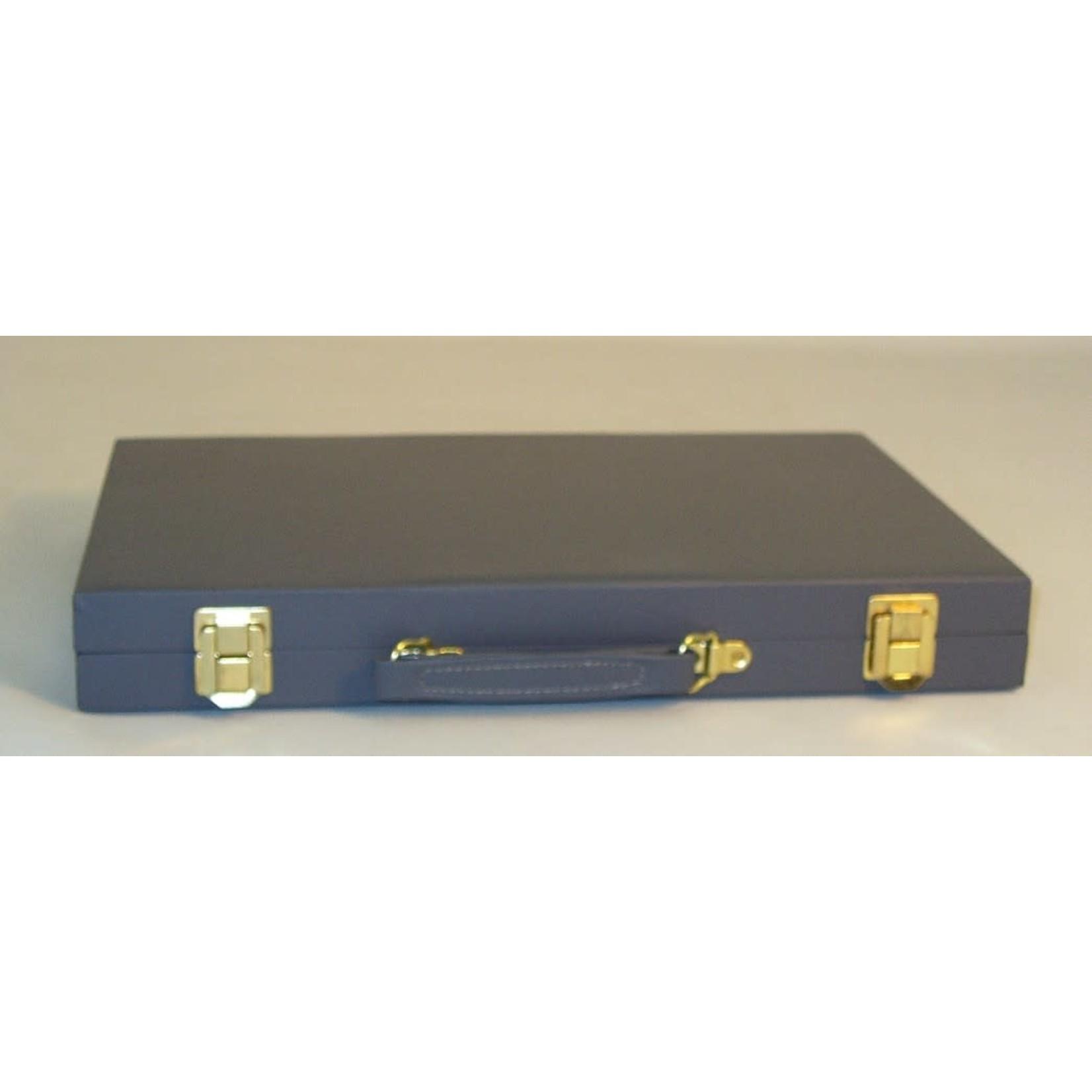 "WorldWise Imports Backgammon (Grey Vinyl) 15"""
