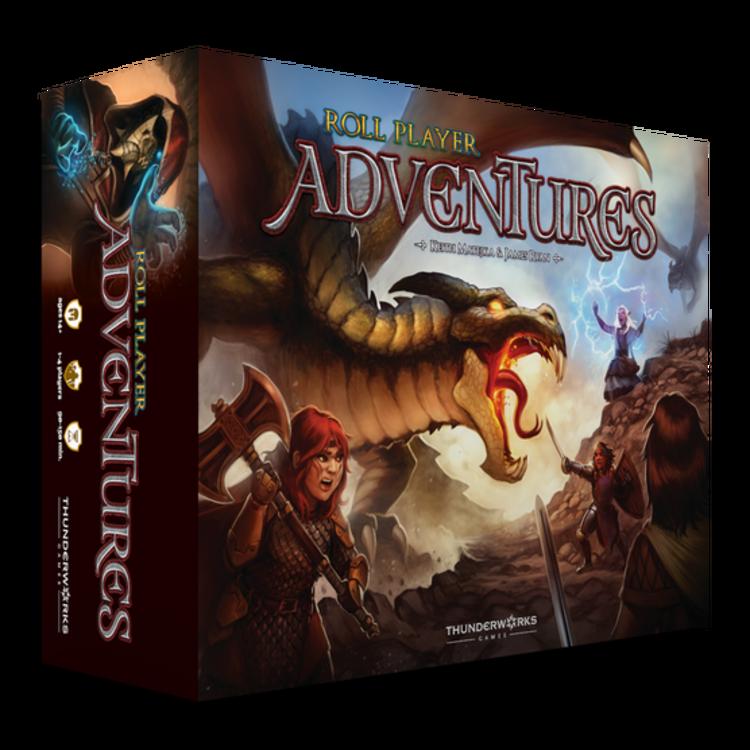 Thunderworks Games Roll Player Adventures (Kickstarter) - Adventurer Pledge