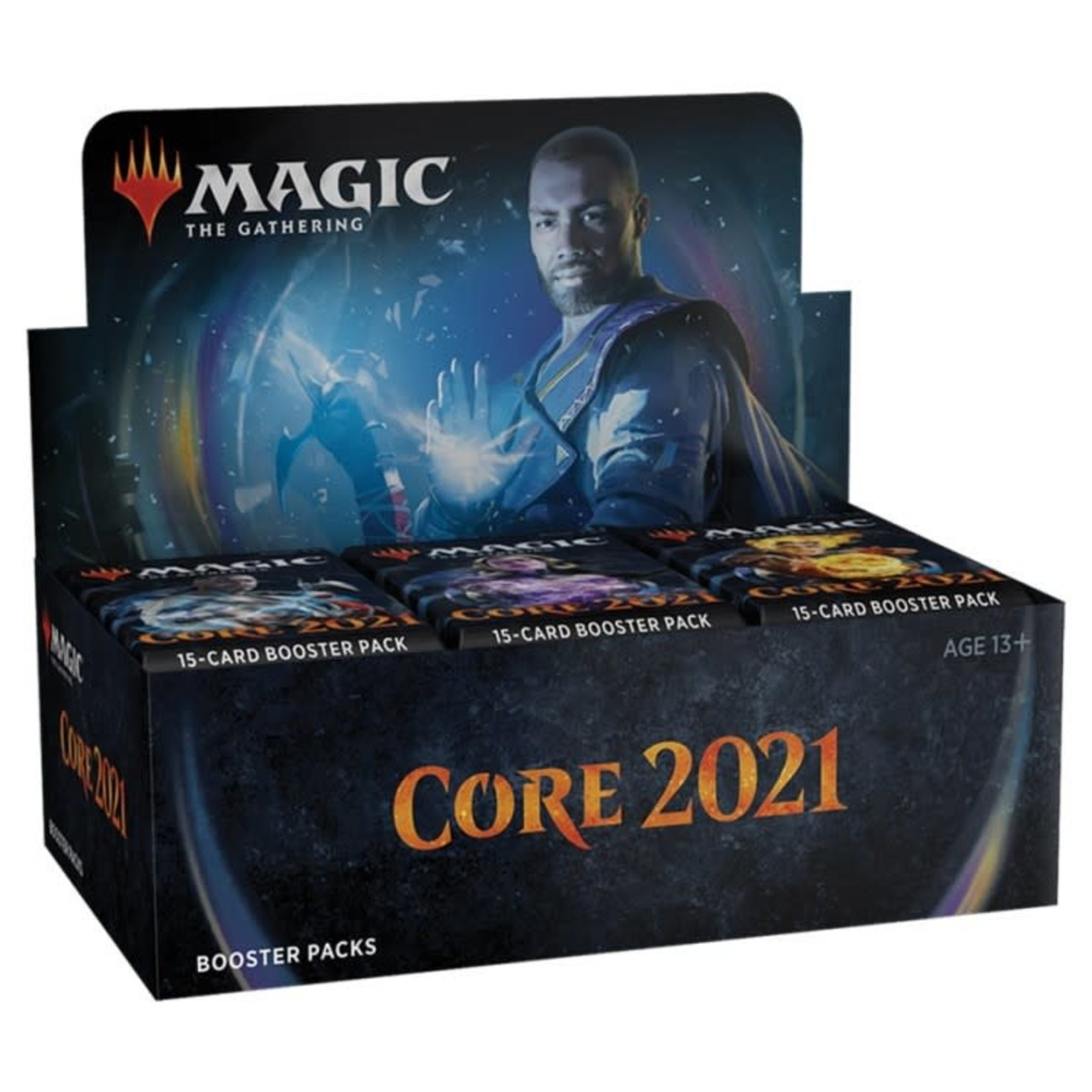 Wizards of the Coast Magic the Gathering - Core 2021 : Draft Booster Box (Online)