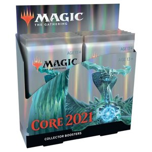 Wizards of the Coast Magic the Gathering - Core 2021 : Collectors Booster Box (Online)