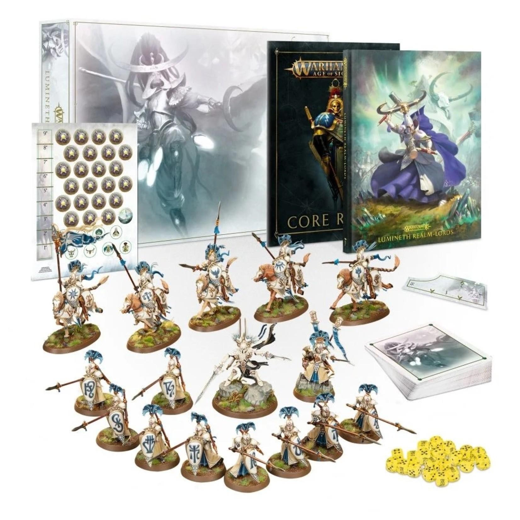 Games Workshop Warhammer Age of Sigmar: Lumineth Realm-Lords Army Set