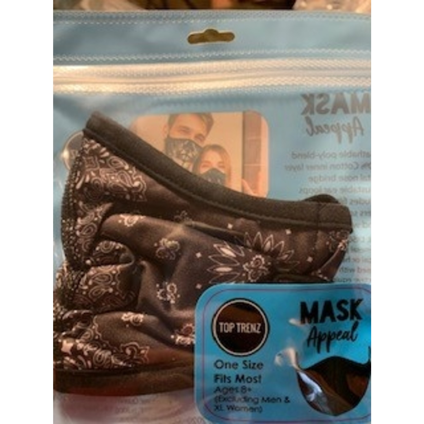 Reusable One Size Fits Most Mask (Age 8+)