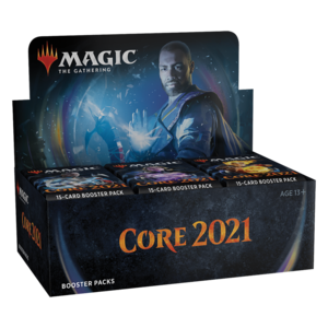 Wizards of the Coast Magic the Gathering - Core 2021: Draft Booster Box