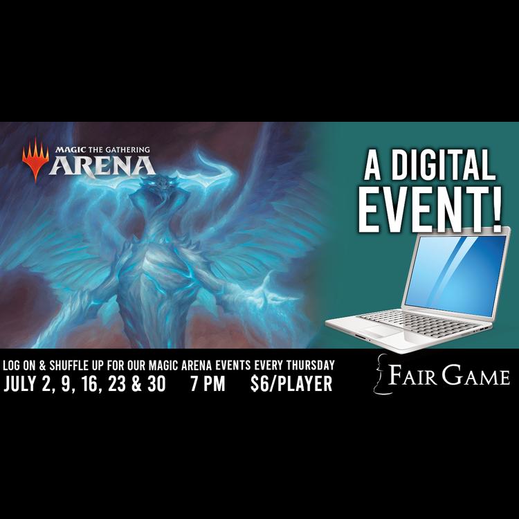 Fair Game Admission: MTG Arena Standard Event - July 9 (7 PM)