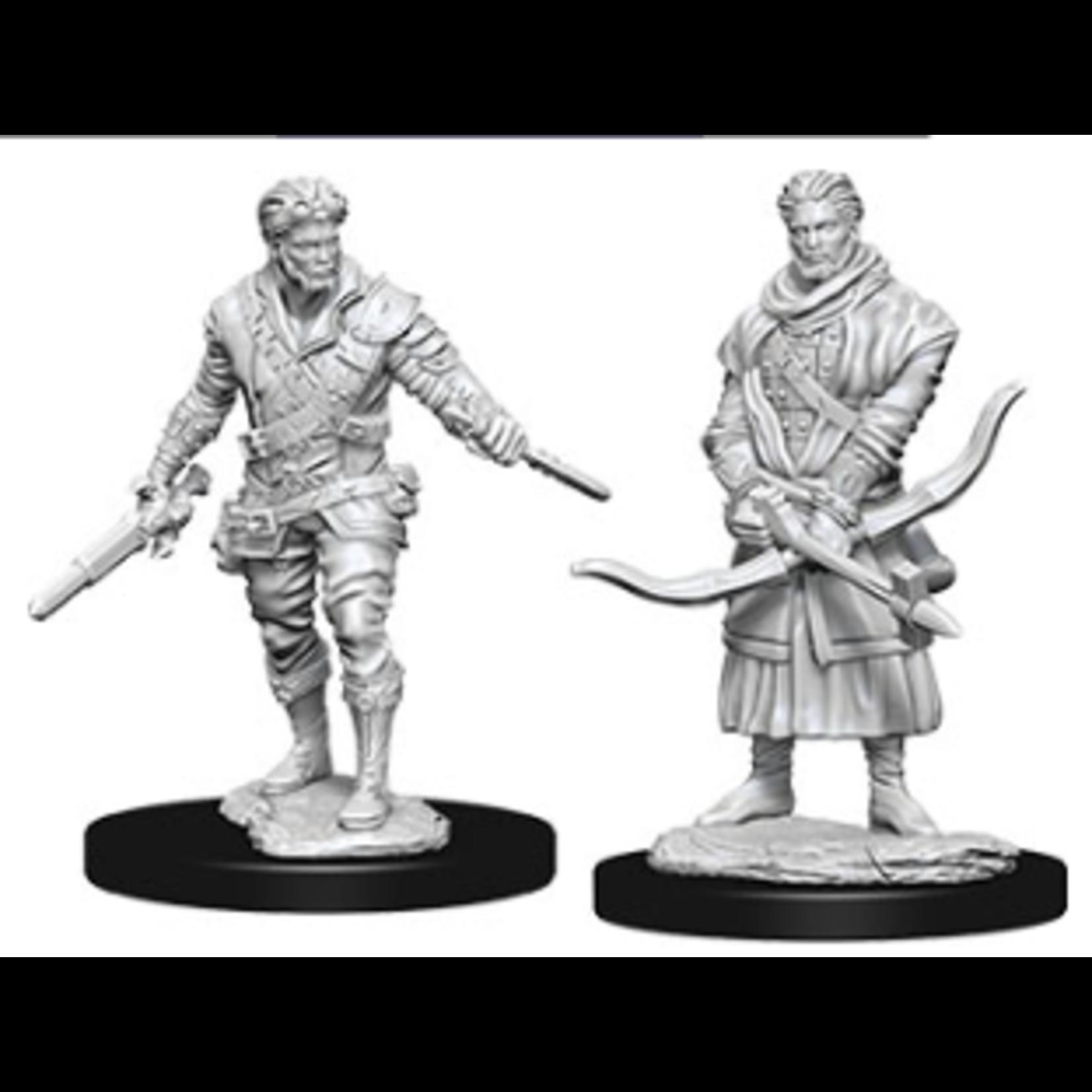WizKids D&D Nolzur's Marvelous Miniatures: Human Male Rogue (W9)